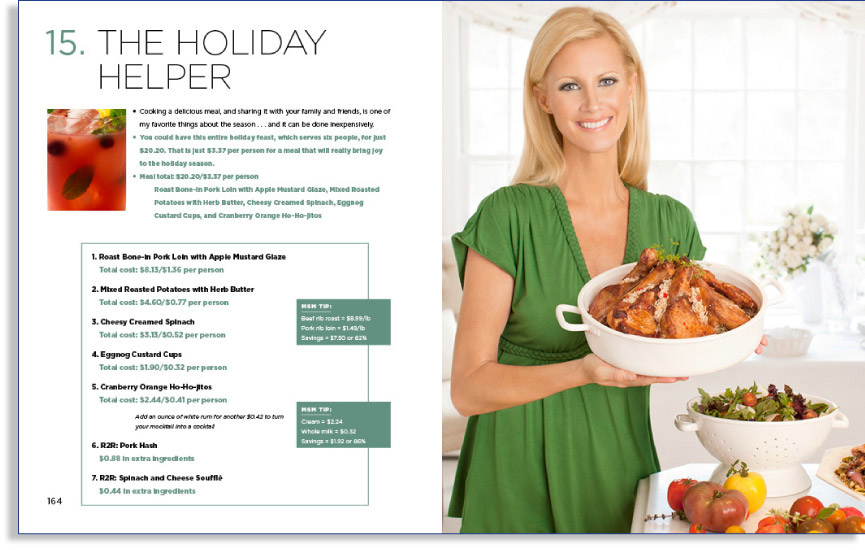 Holiday Helper Spread